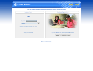 web2sms.sc screenshot