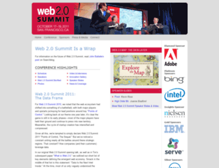 web2summit.com screenshot