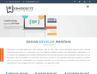 webaddictz.com screenshot