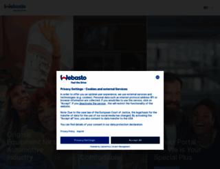 webasto.com screenshot