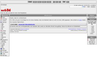 webbe.de screenshot