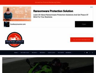 webbikeworld.com screenshot