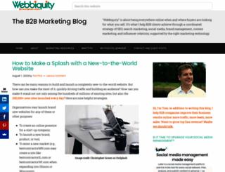 webbiquity.com screenshot