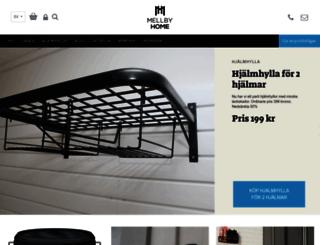webbshop.mellbygarage.se screenshot