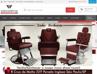 webcadeiras.com.br screenshot
