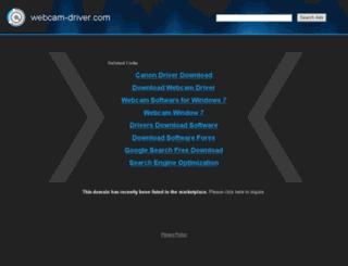 webcam-driver.com screenshot