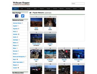 webcamhopper.com screenshot