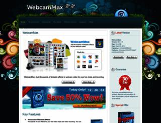 webcammax.com screenshot