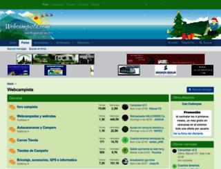 webcampista.com screenshot