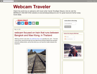 webcamtraveler.blogspot.com screenshot