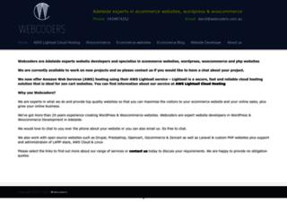 webcoders.com.au screenshot