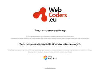 webcoders.eu screenshot