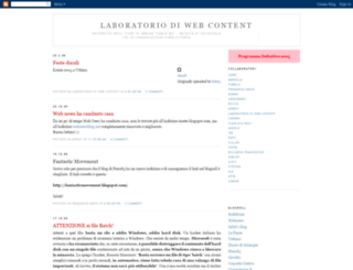 webcontentlab.blogspot.de screenshot