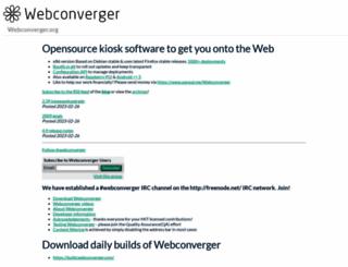 webconverger.org screenshot