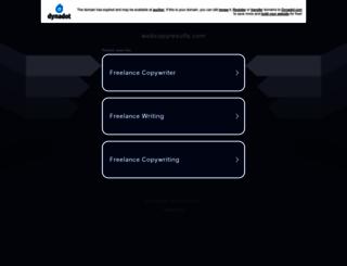 webcopyresults.com screenshot