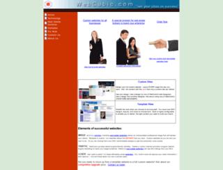 webcubic.com screenshot
