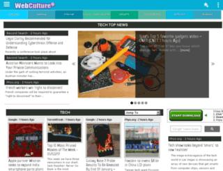 webculture.com screenshot