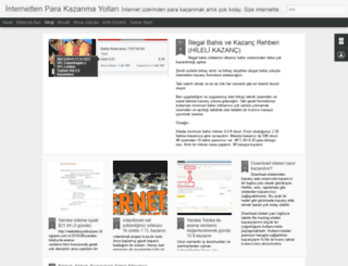 webdebuyukkazanc.blogspot.com screenshot