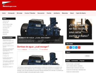 webdehogar.com screenshot