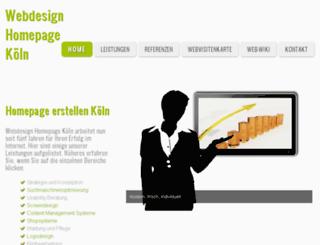 webdesign-homepage-koeln.de screenshot