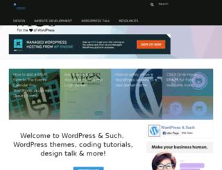webdesignandsuch.com screenshot