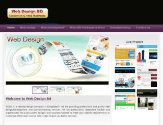 webdesignbd.net screenshot