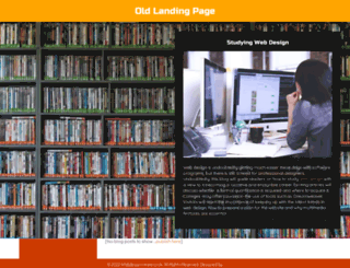 webdesigncreare.co.uk screenshot