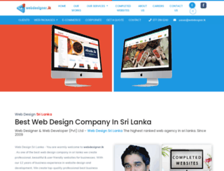 webdesigner.lk screenshot