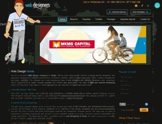 webdesignersnoida.com screenshot