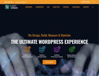 webdesignforsearchengines.com screenshot
