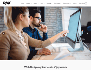 webdesigningservices.co.in screenshot