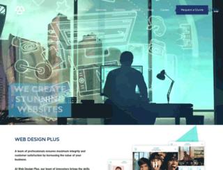 webdesignplus.us screenshot