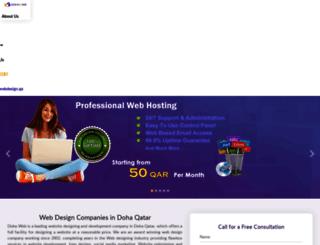 webdesignseoqatar.com screenshot