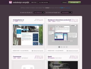 webdesignvergelijk.nl screenshot