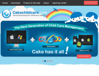 webdev.cakechildcare.com screenshot