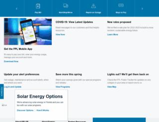 webdev.fpl.com screenshot