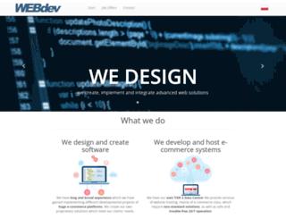 webdev.pl screenshot