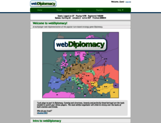 webdiplomacy.net screenshot