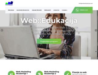webedukacija.com screenshot