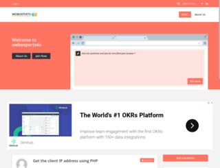 webexperts4u.com screenshot