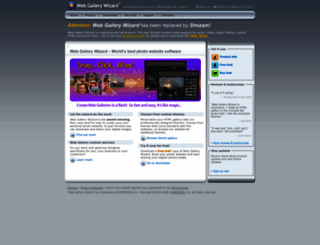 webgallerywizard.com screenshot
