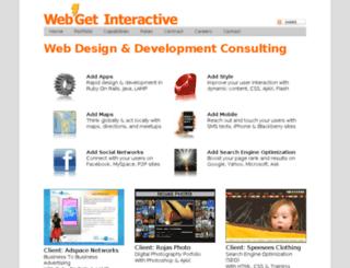 webget.com screenshot
