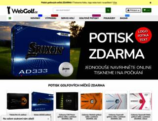 webgolf.cz screenshot