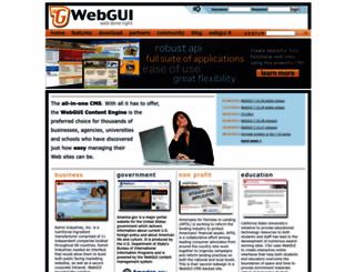 webgui.org screenshot