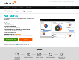 Help Desk Website Template at top.accessify.com