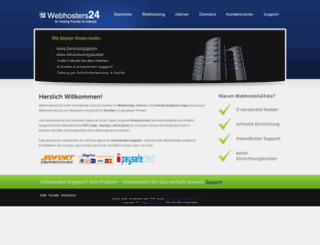 webhosters24.biz screenshot