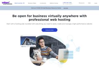 webhosting.luminate.com screenshot
