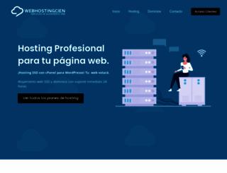 webhostingcien.com screenshot