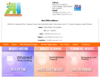 webhostinginkarachi.com screenshot
