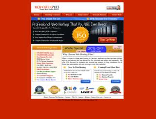 webhostingpiles.com screenshot
